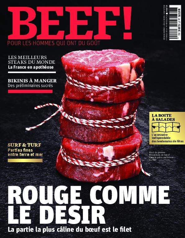 BEEF! Magazine – Novembre-décembre 2018