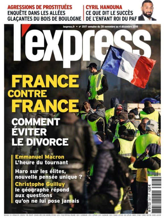 L'Express – 28 Novembre 2018
