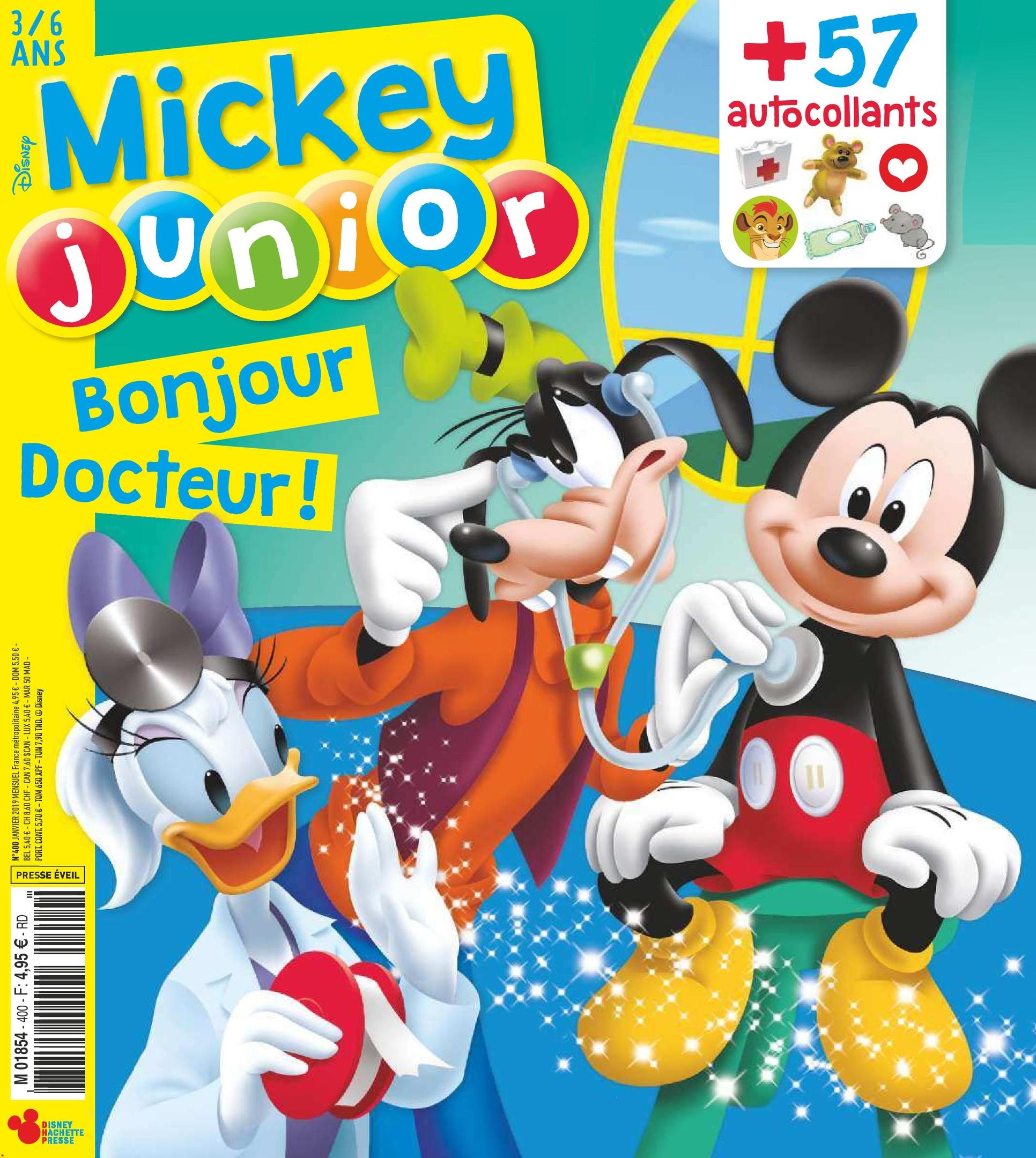Mickey Junior – Janvier 2019