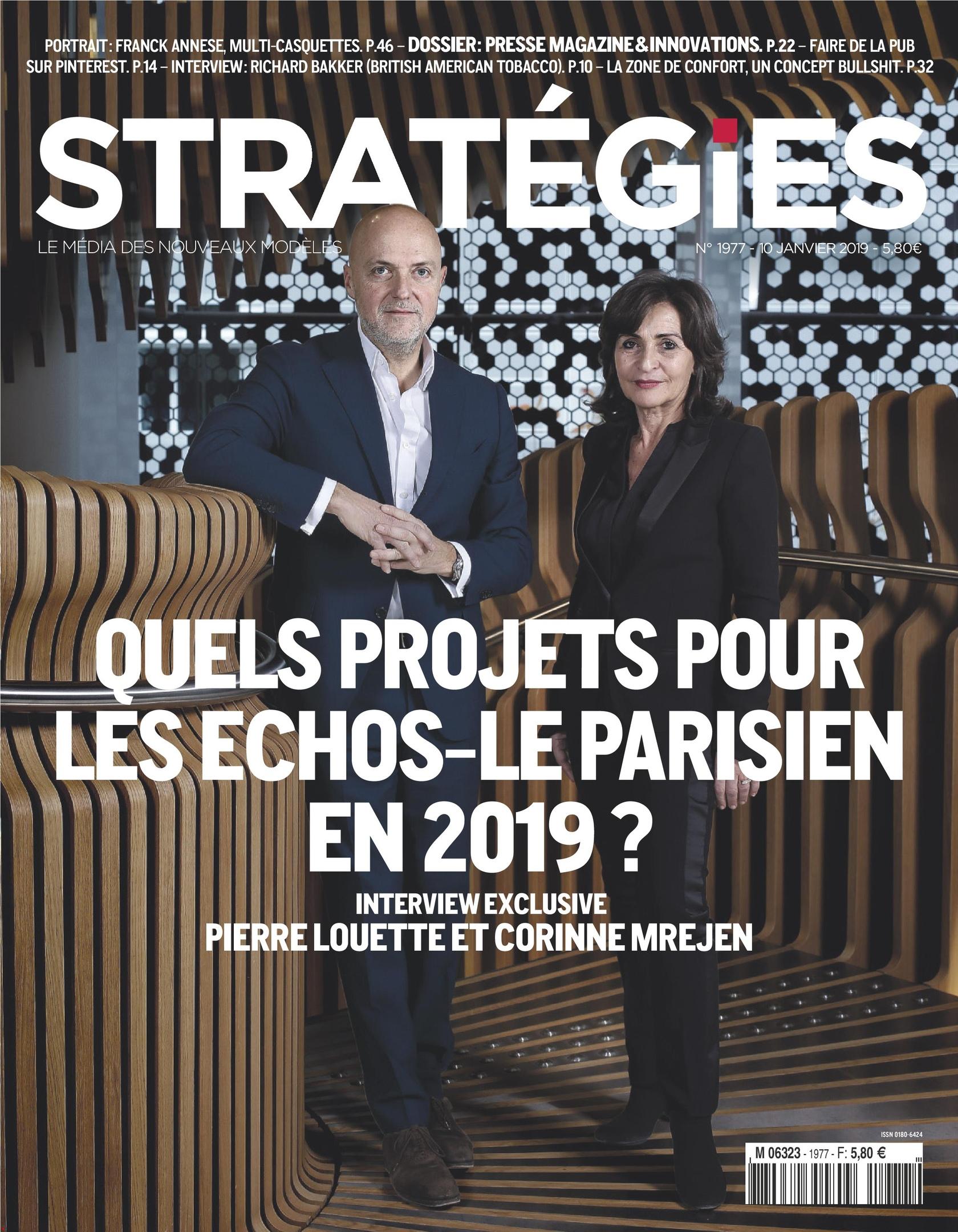 Stratégies – 10 Janvier 2019