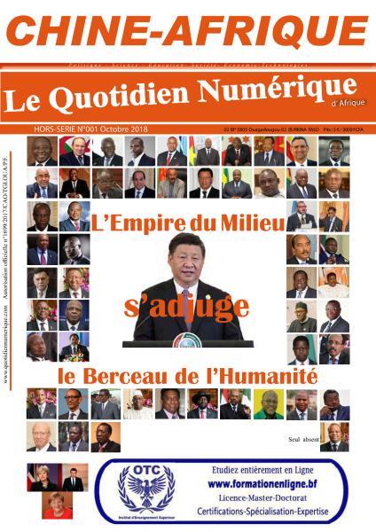 Le Quotidien Numérique D'Afrique Hors-Série – Octobre 2018