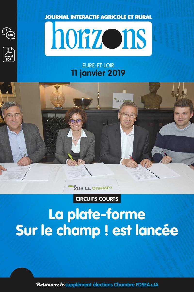 Horizons Centre Ile-de-France – 11 Janvier 2019