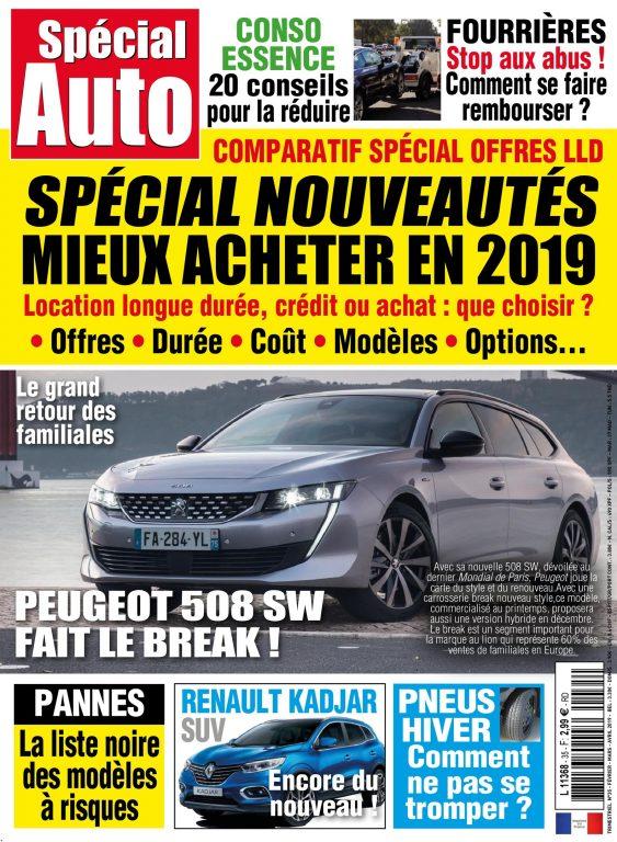 Spécial Auto – Janvier 2019