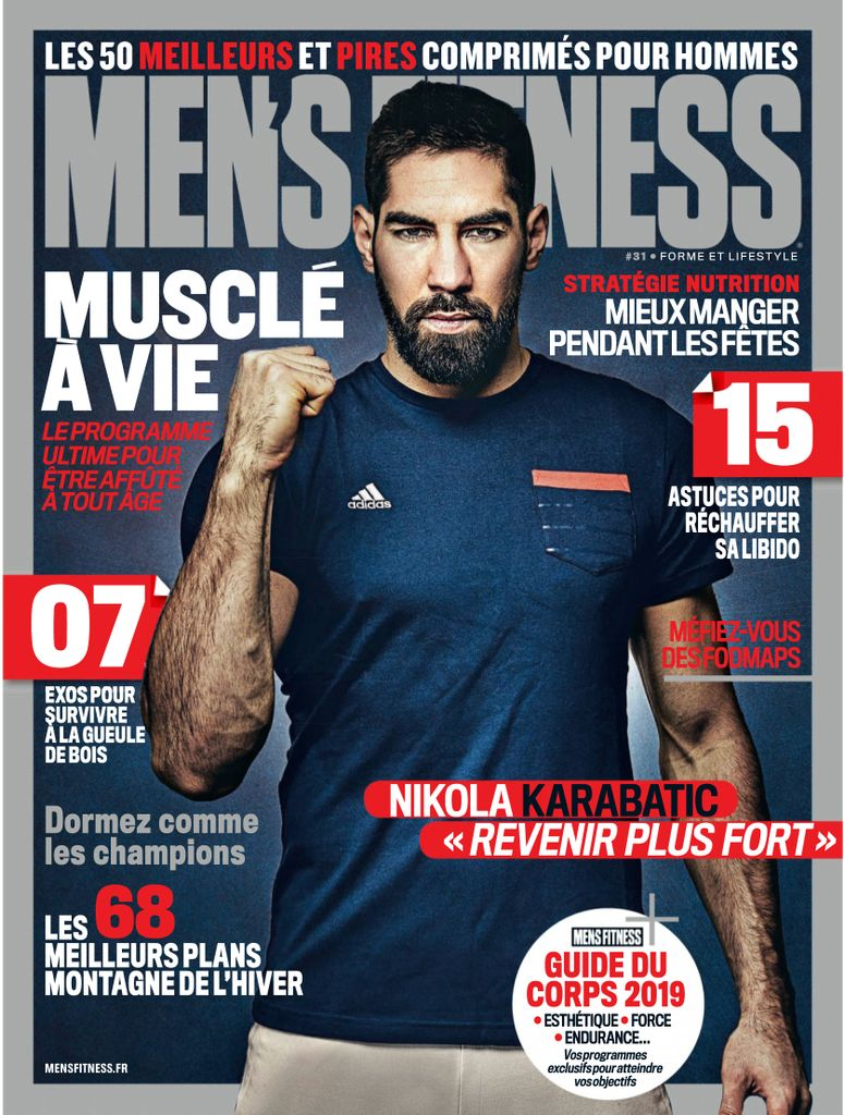 Men's Fitness France – Janvier 2019