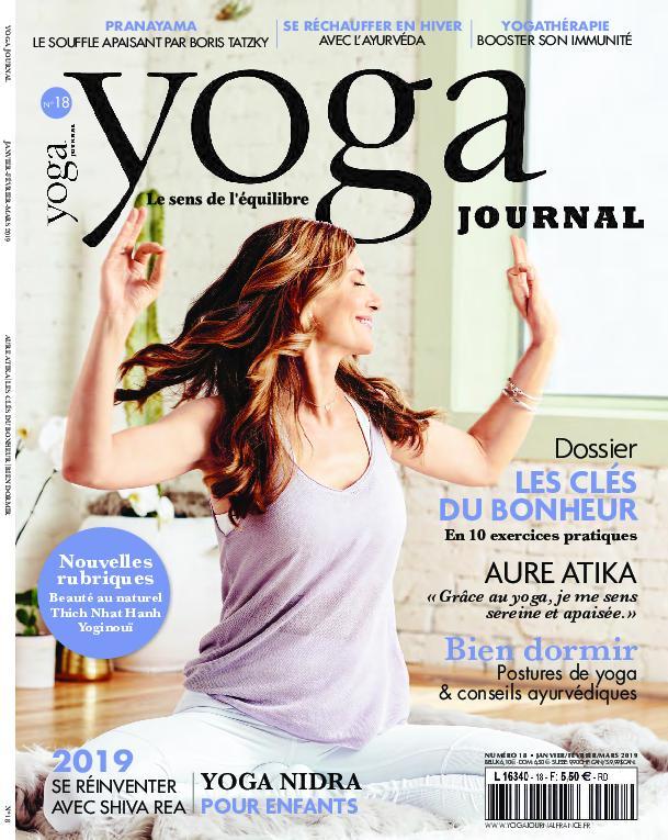 Yoga Journal France – Janvier 2019
