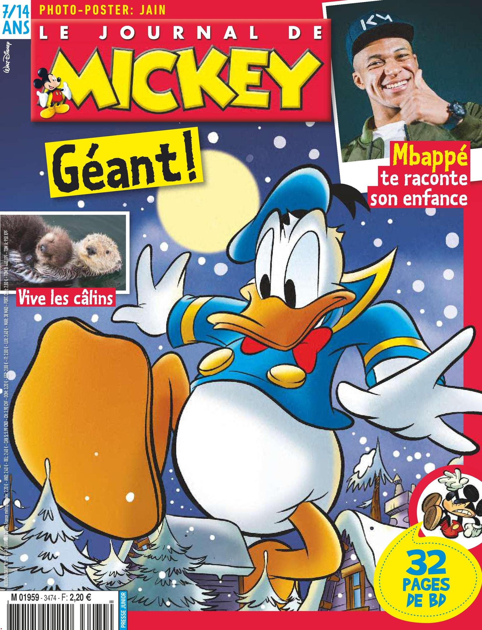 Le Journal De Mickey – 16 Janvier 2019