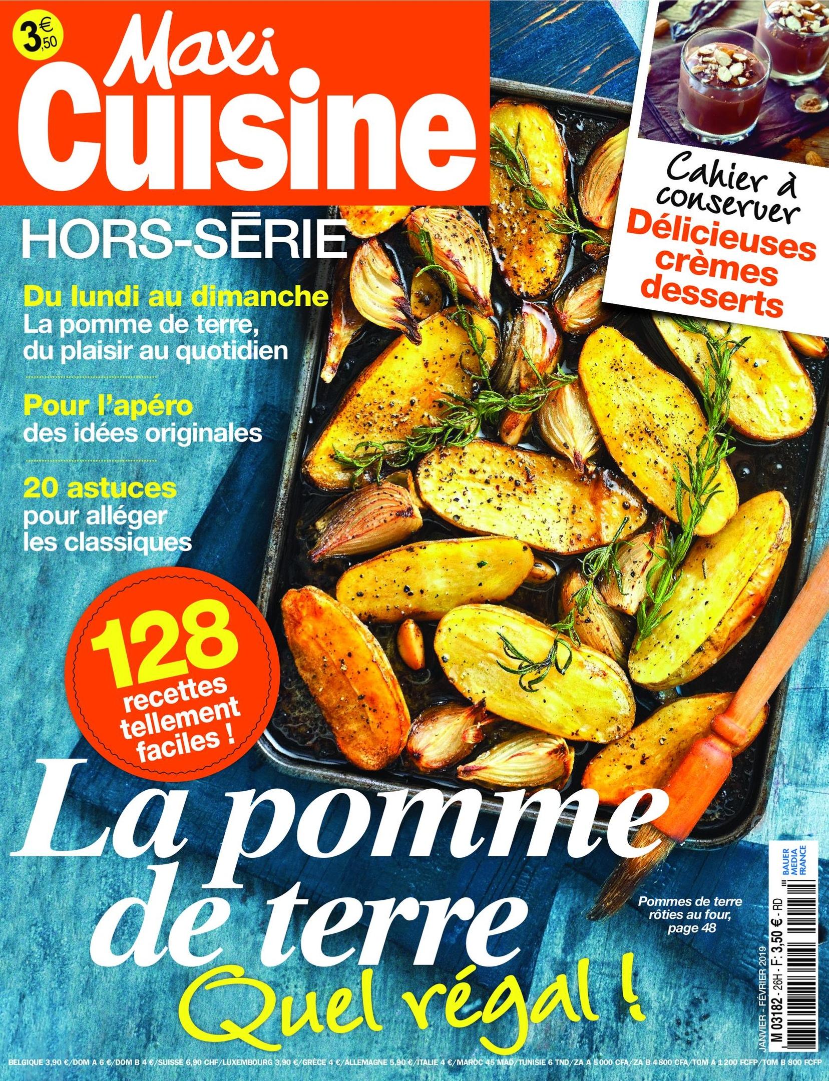 Maxi Cuisine Hors-Série – Janvier 2019
