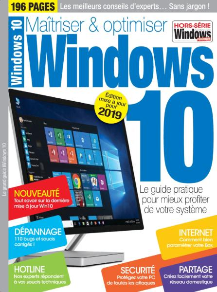 Windows & Internet Pratique Hors-Série N.17 – Le Grand Guide Windows 10 2018