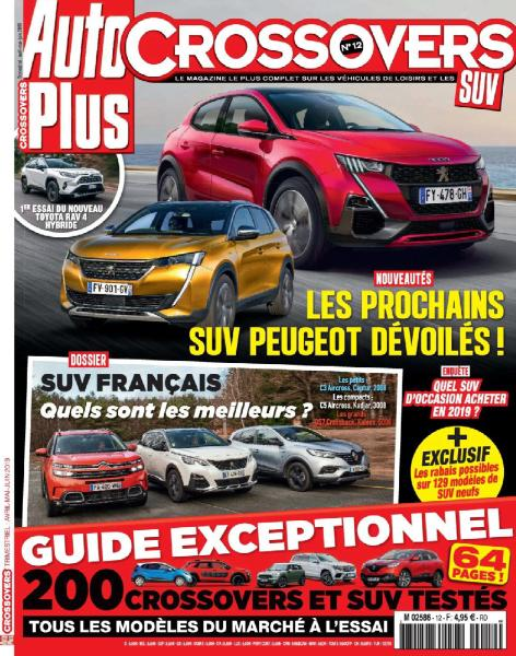 Auto Plus Hors-Série Crossovers – Avril-Juin 2019