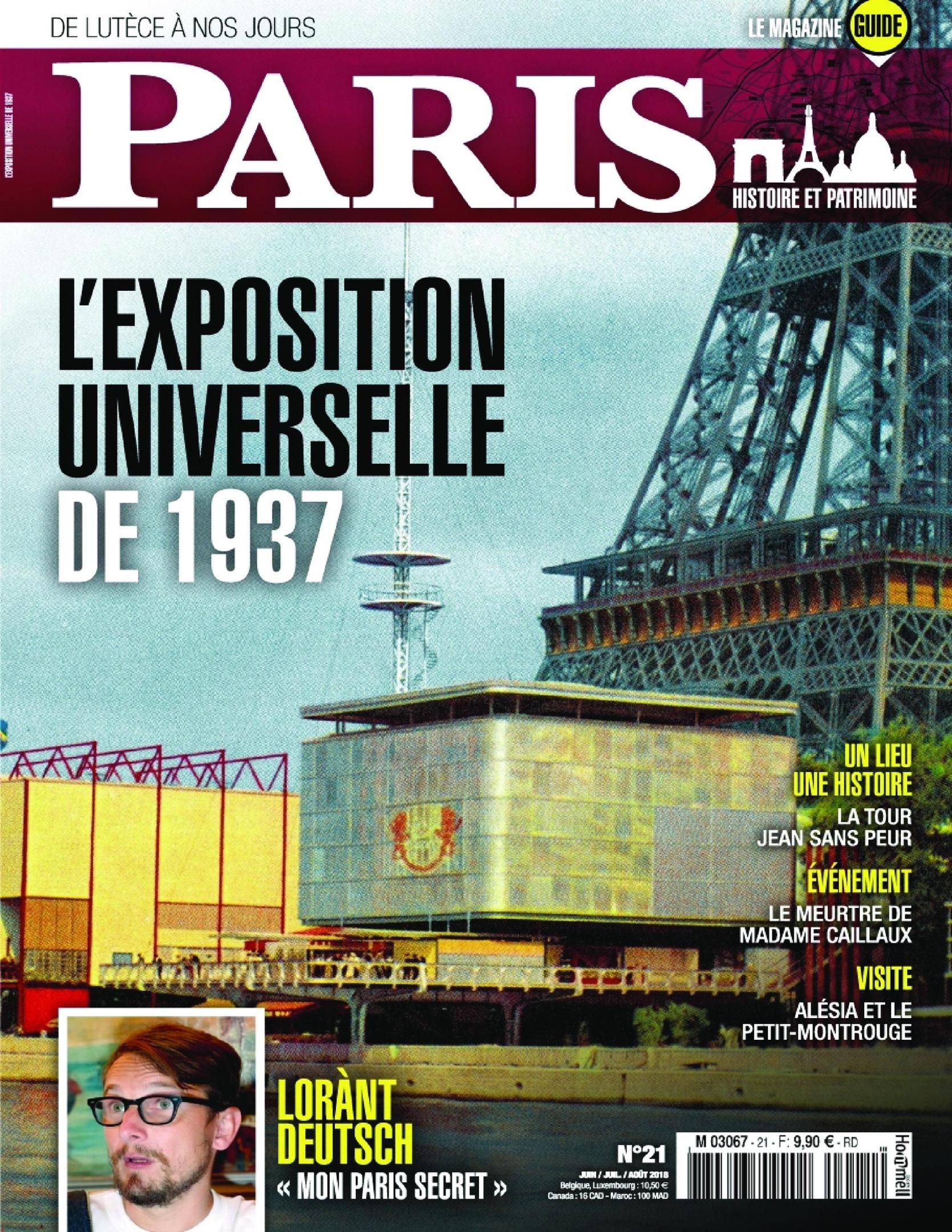 Paris, De Lutèce à Nos Jours – Juin 2018