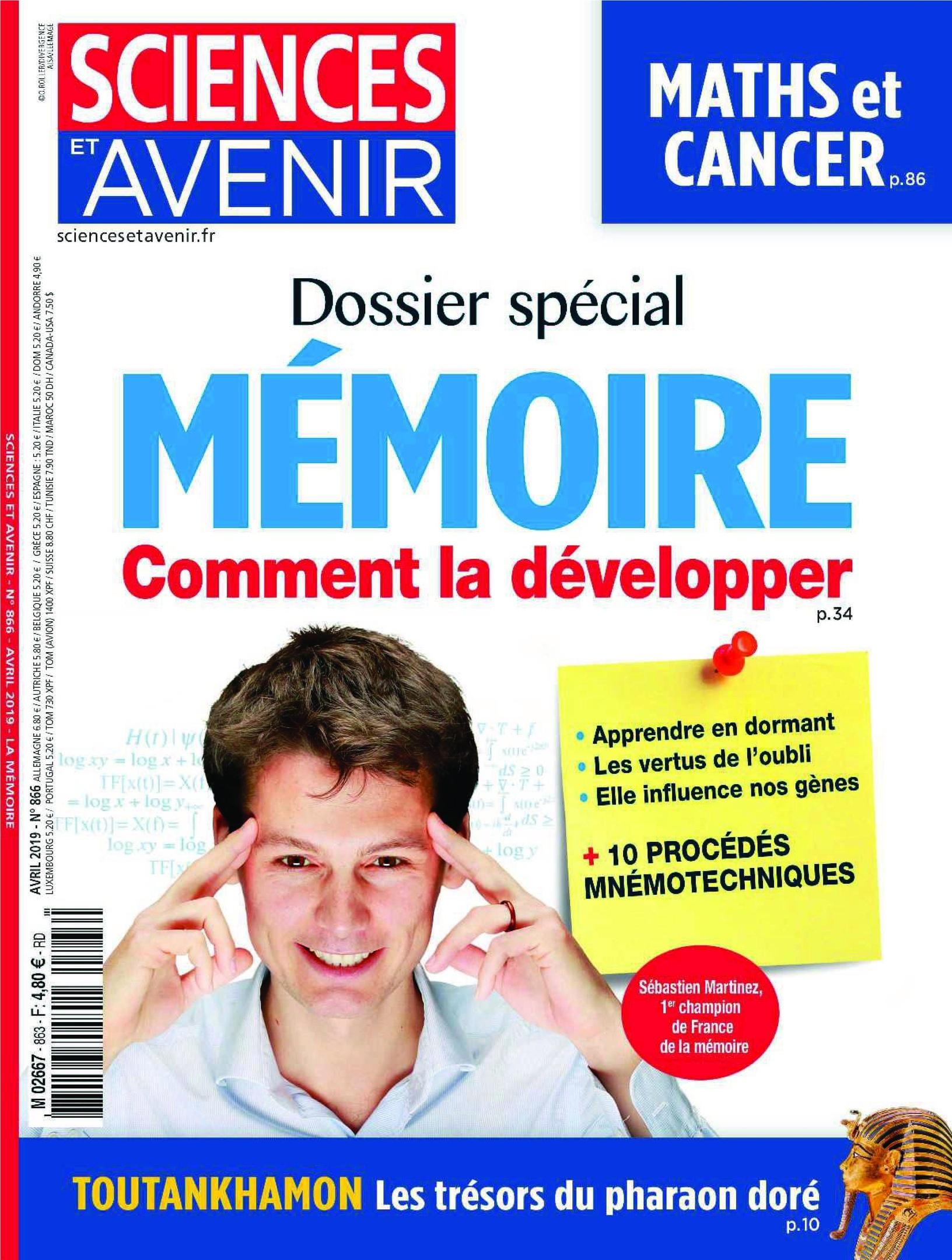 Sciences Et Avenir – Avril 2019