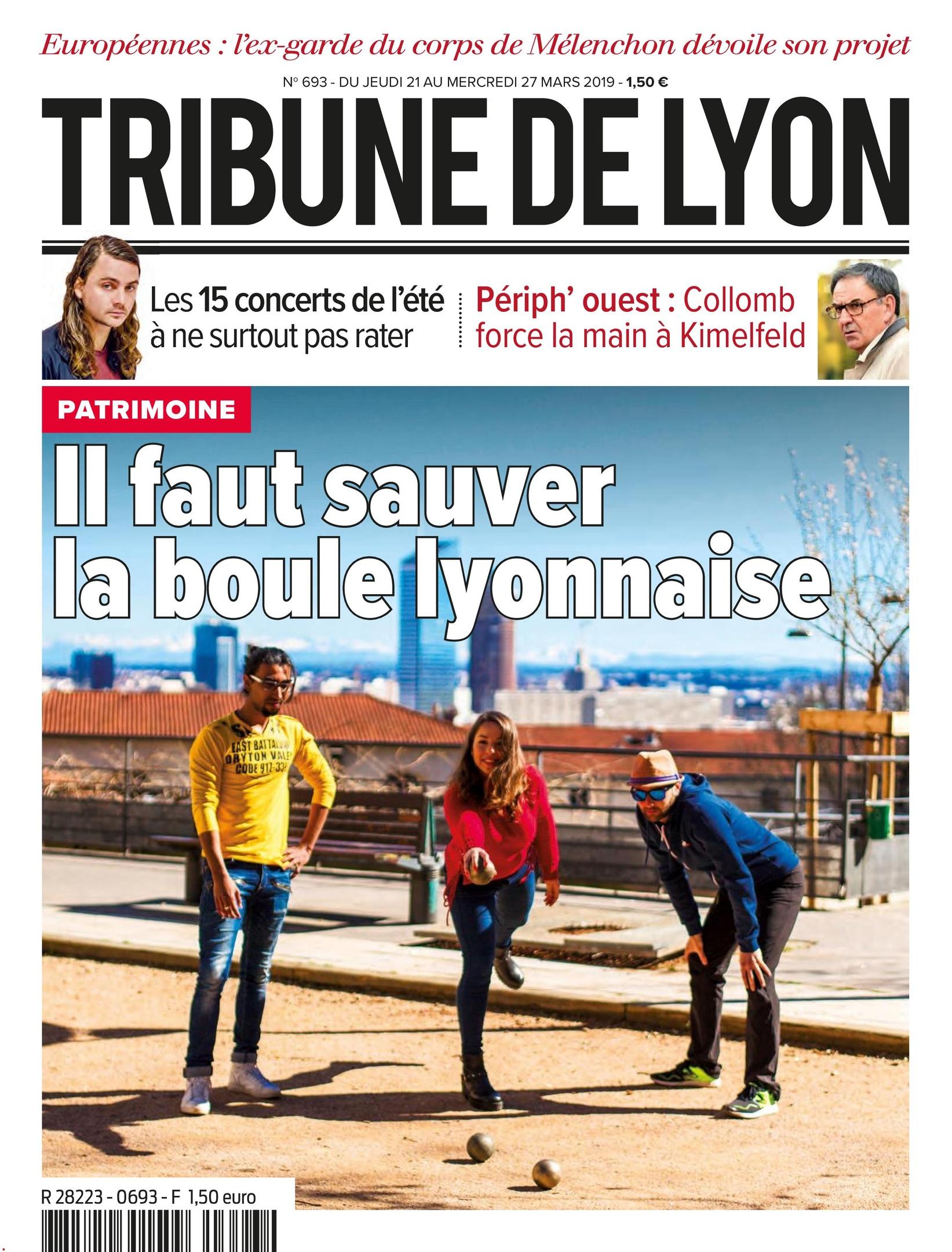 Tribune De Lyon – 21 Mars 2019