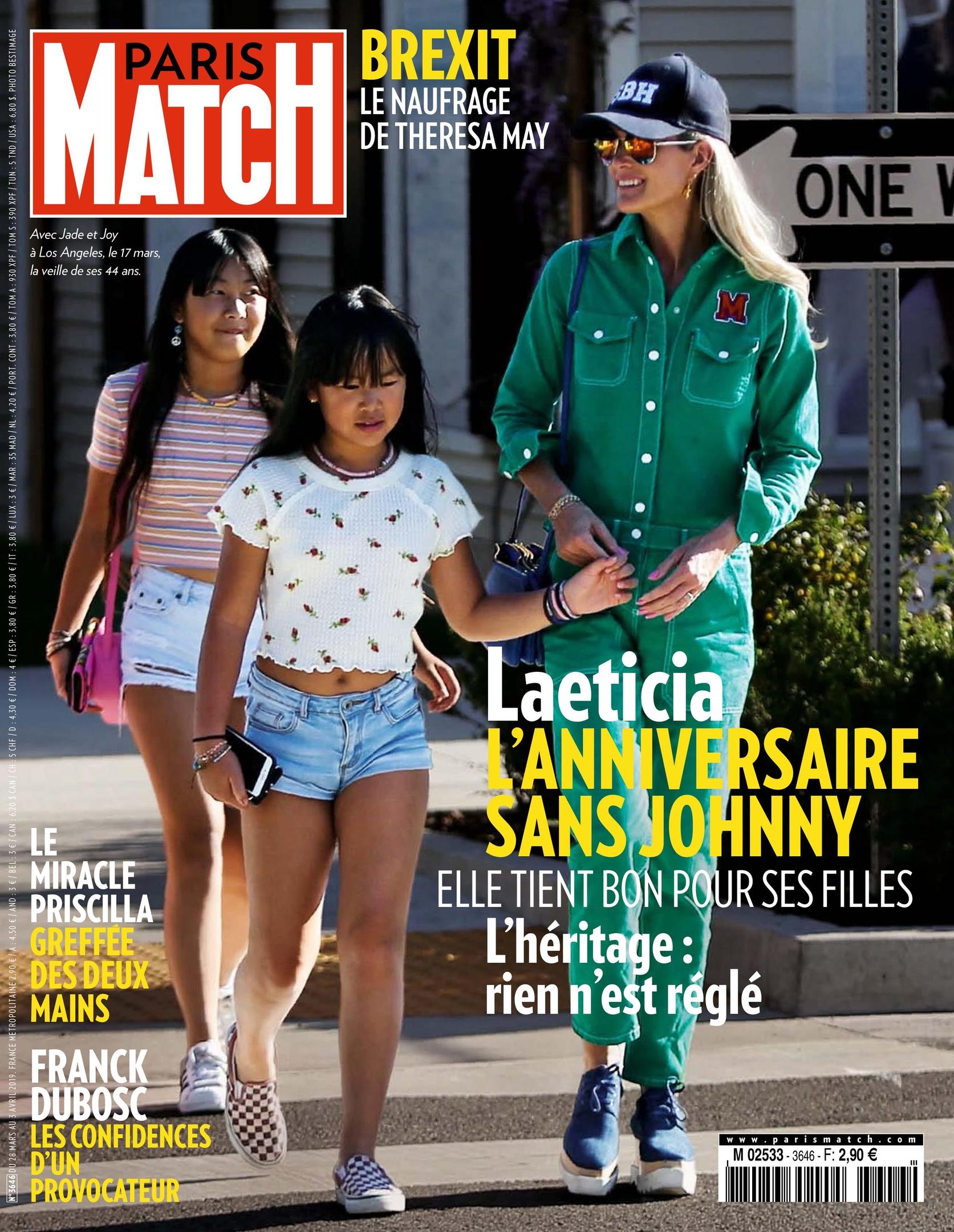 Paris Match – 28 Mars 2019