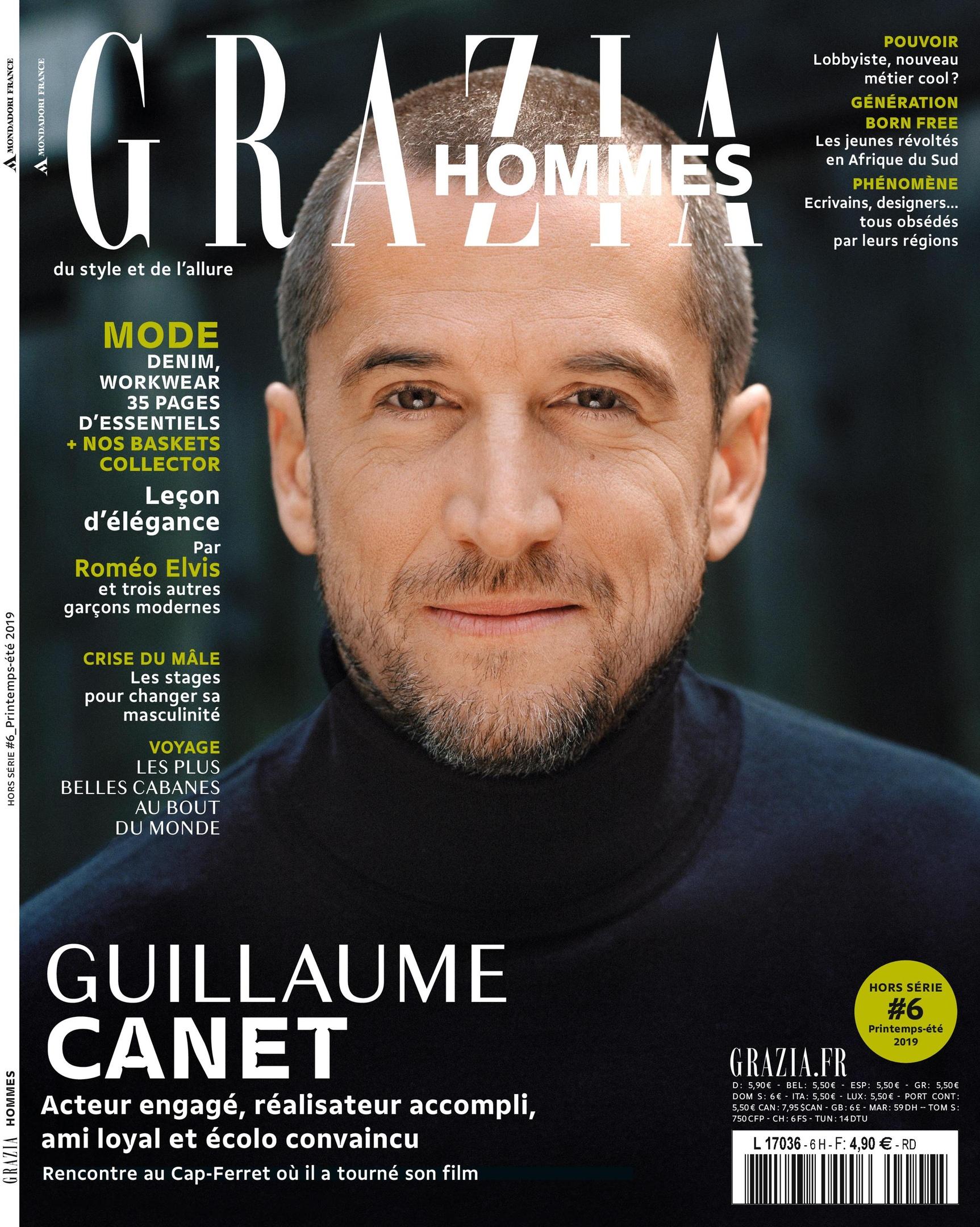 Grazia Hommes – Mars 2019