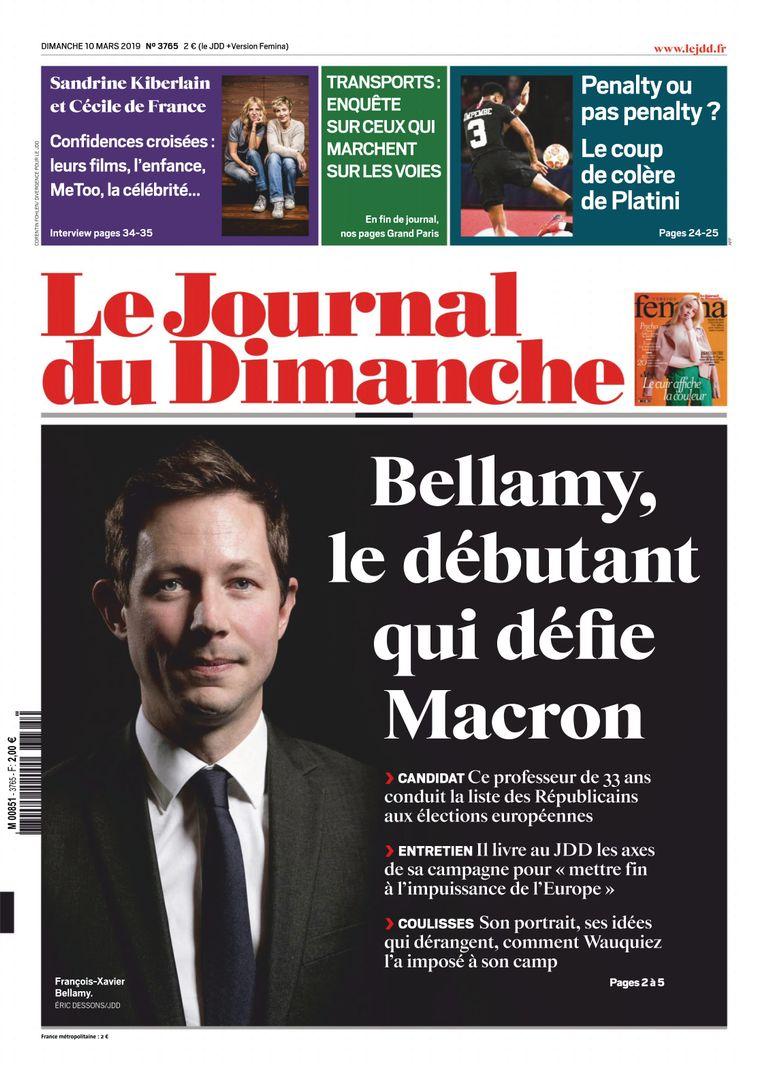 Le Journal Du Dimanche – 10 Mars 2019