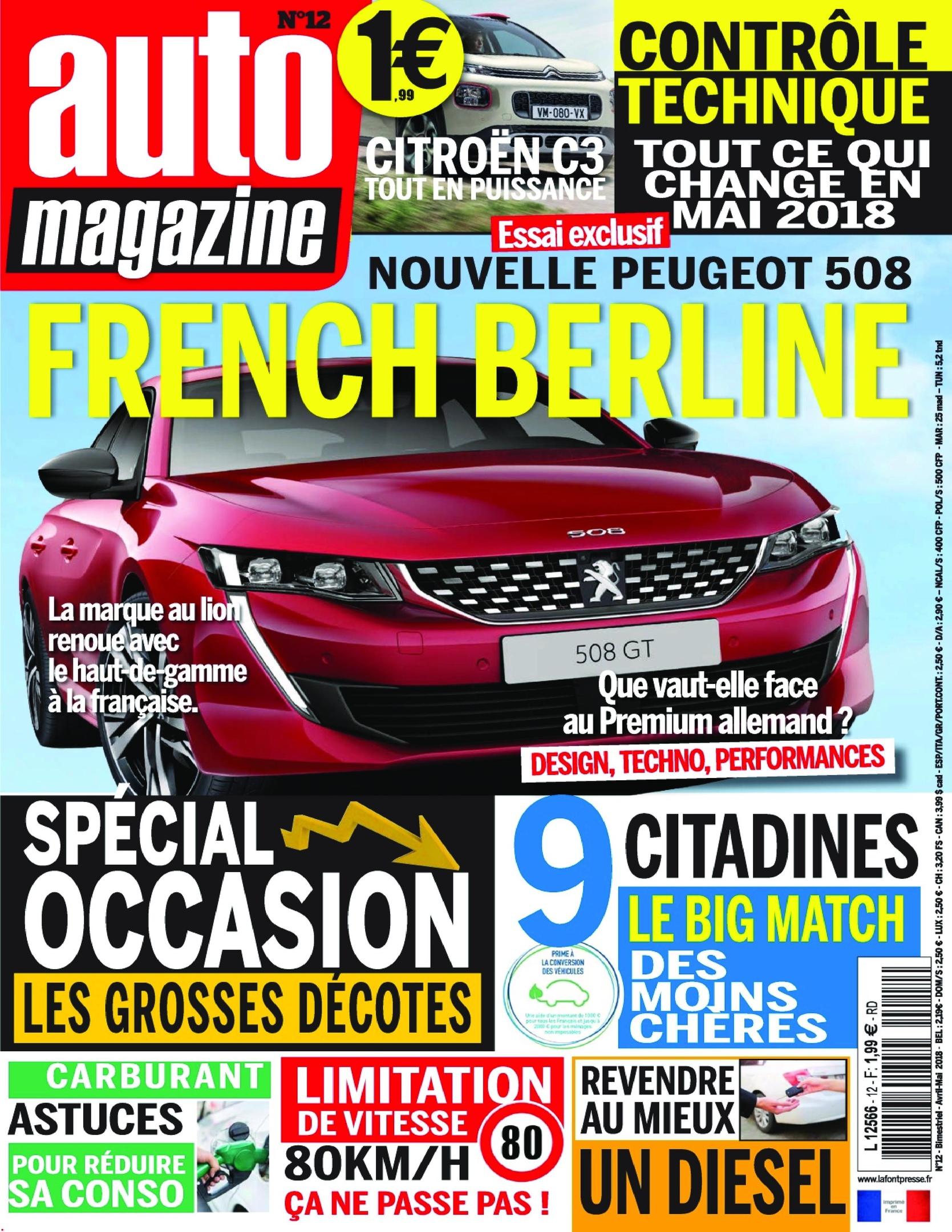 Auto Magazine – Mai 2018