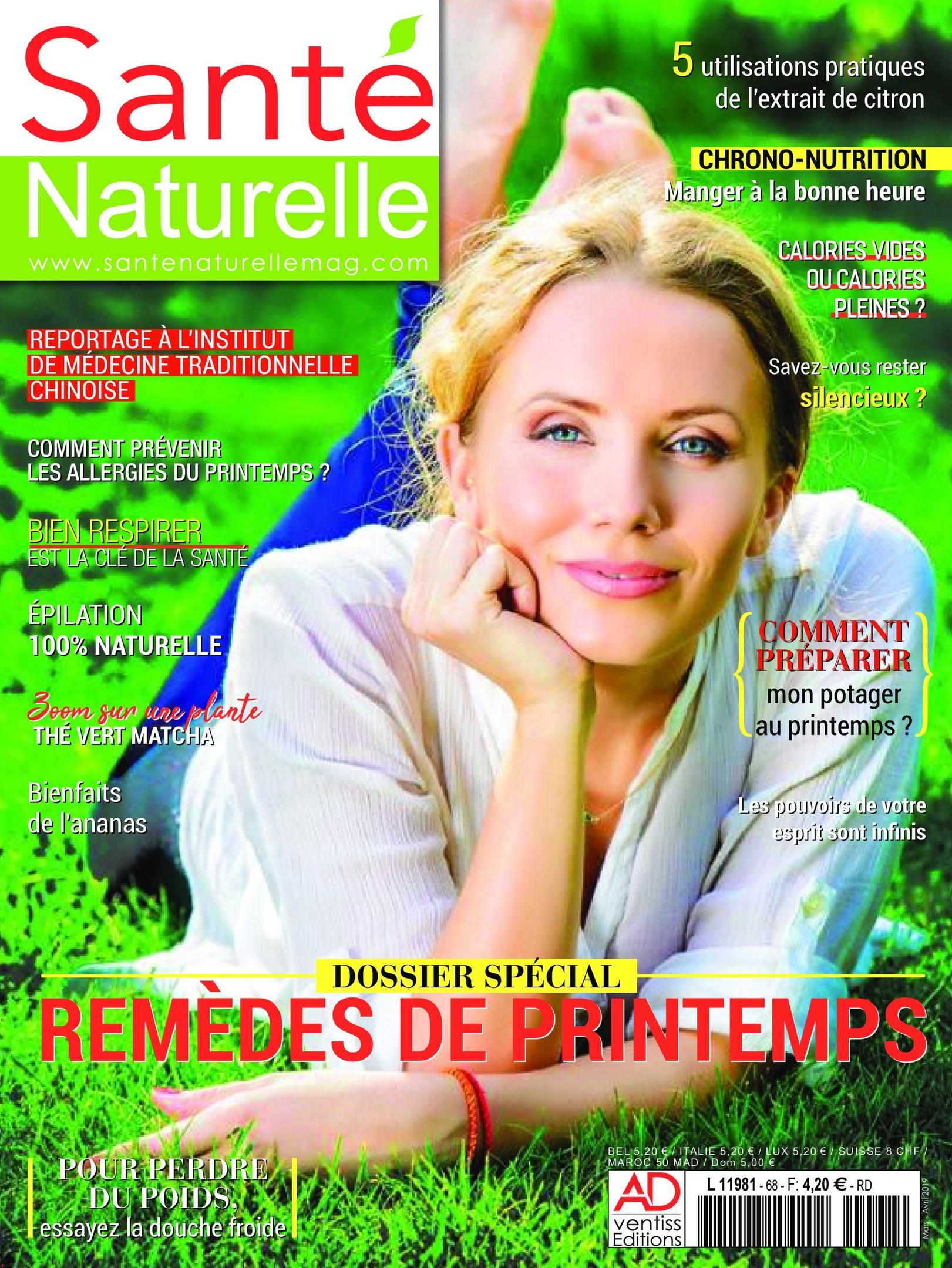 Santé Naturelle – 13 Mars 2019