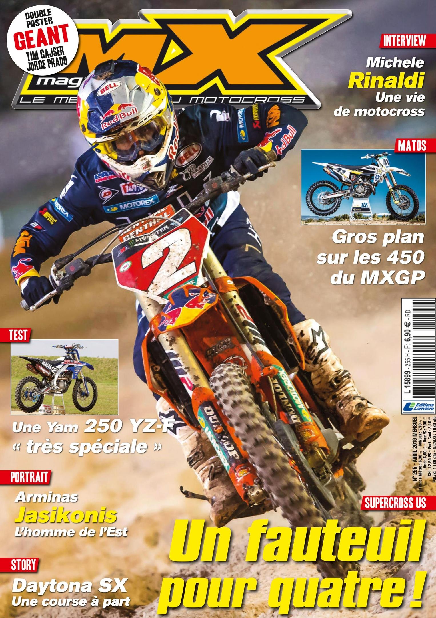 MX Magazine – Avril 2019