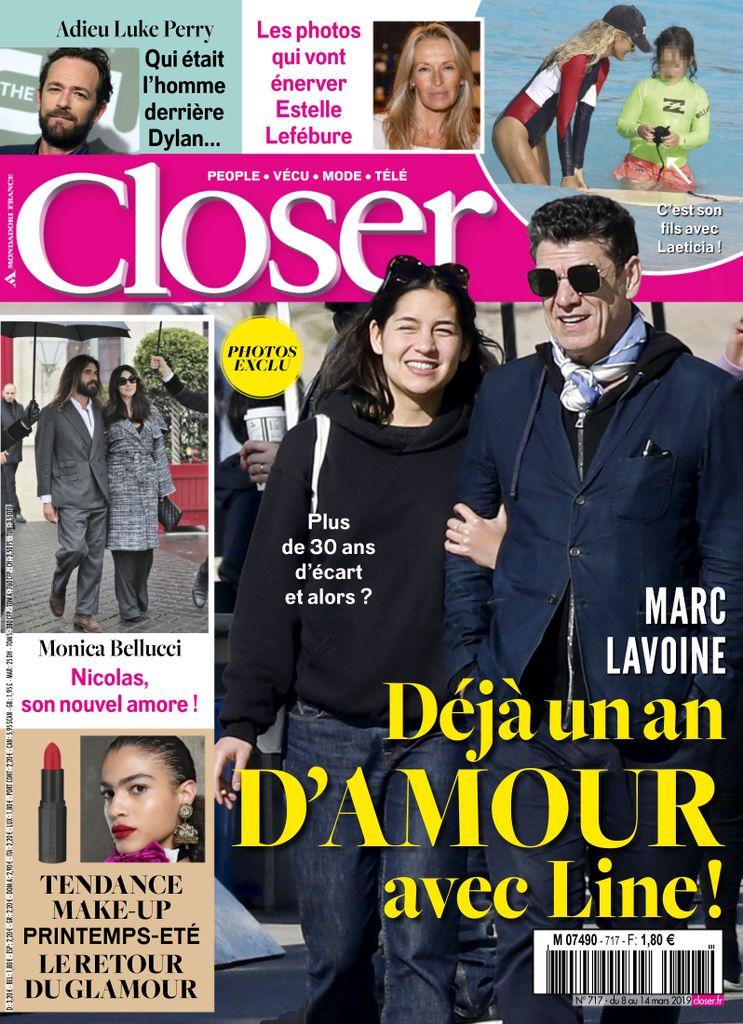 Closer France – 08 Mars 2019