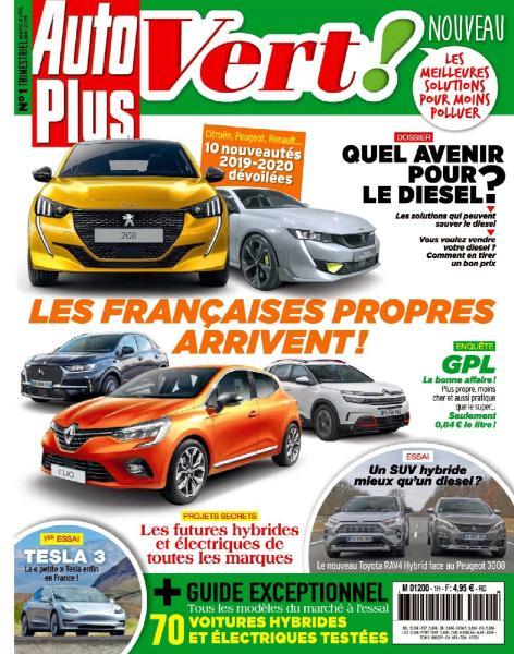 Auto Plus Vert – Mars-Mai 2019