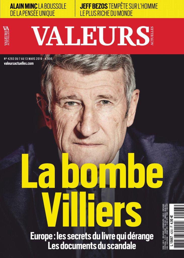 Valeurs Actuelles – 07 Mars 2019