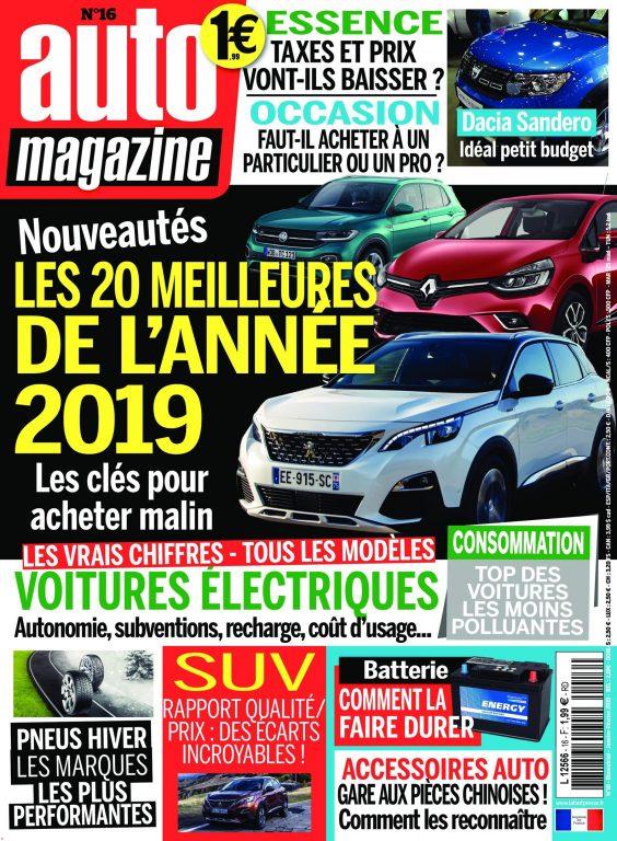 Auto Magazine – Janvier 2019