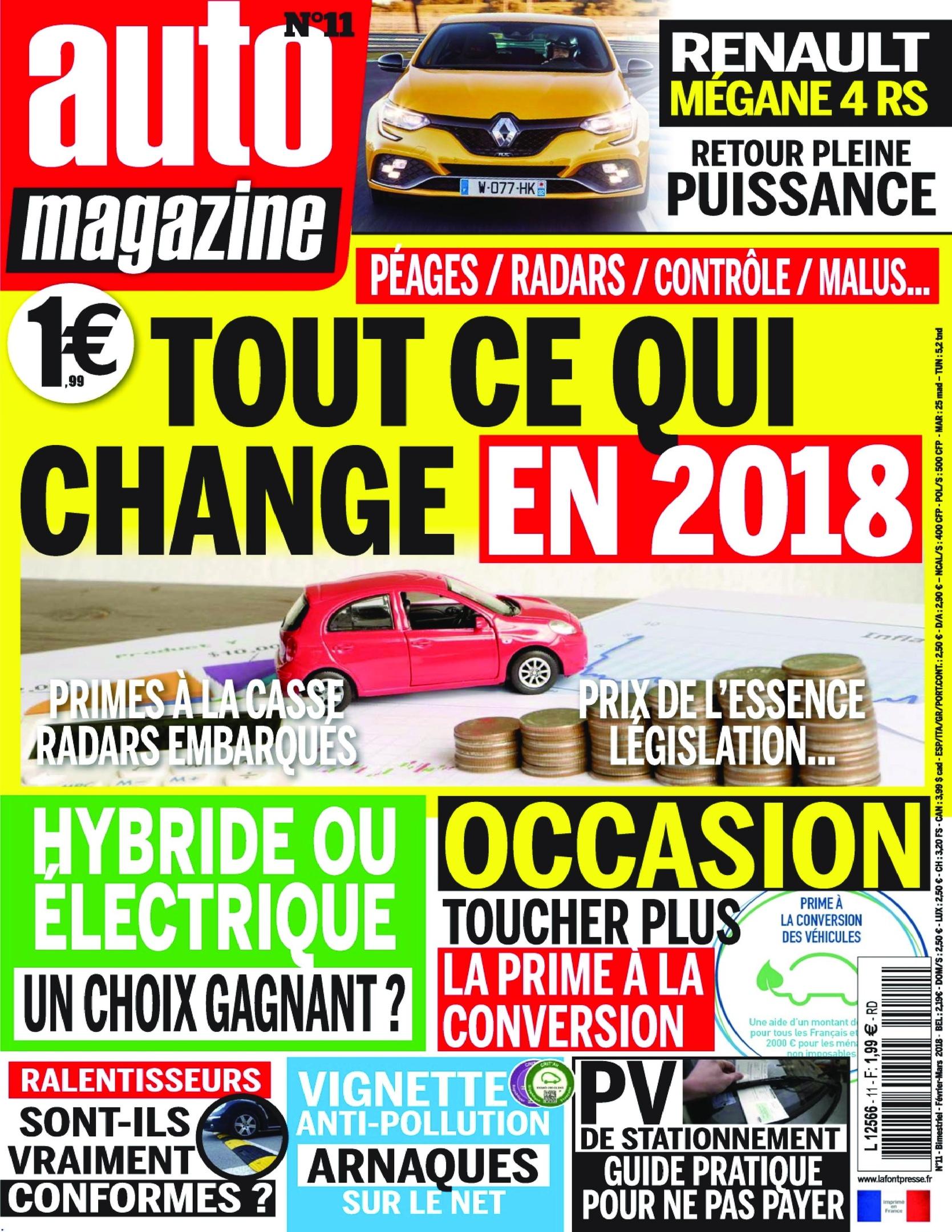 Auto Magazine – Mars 2018