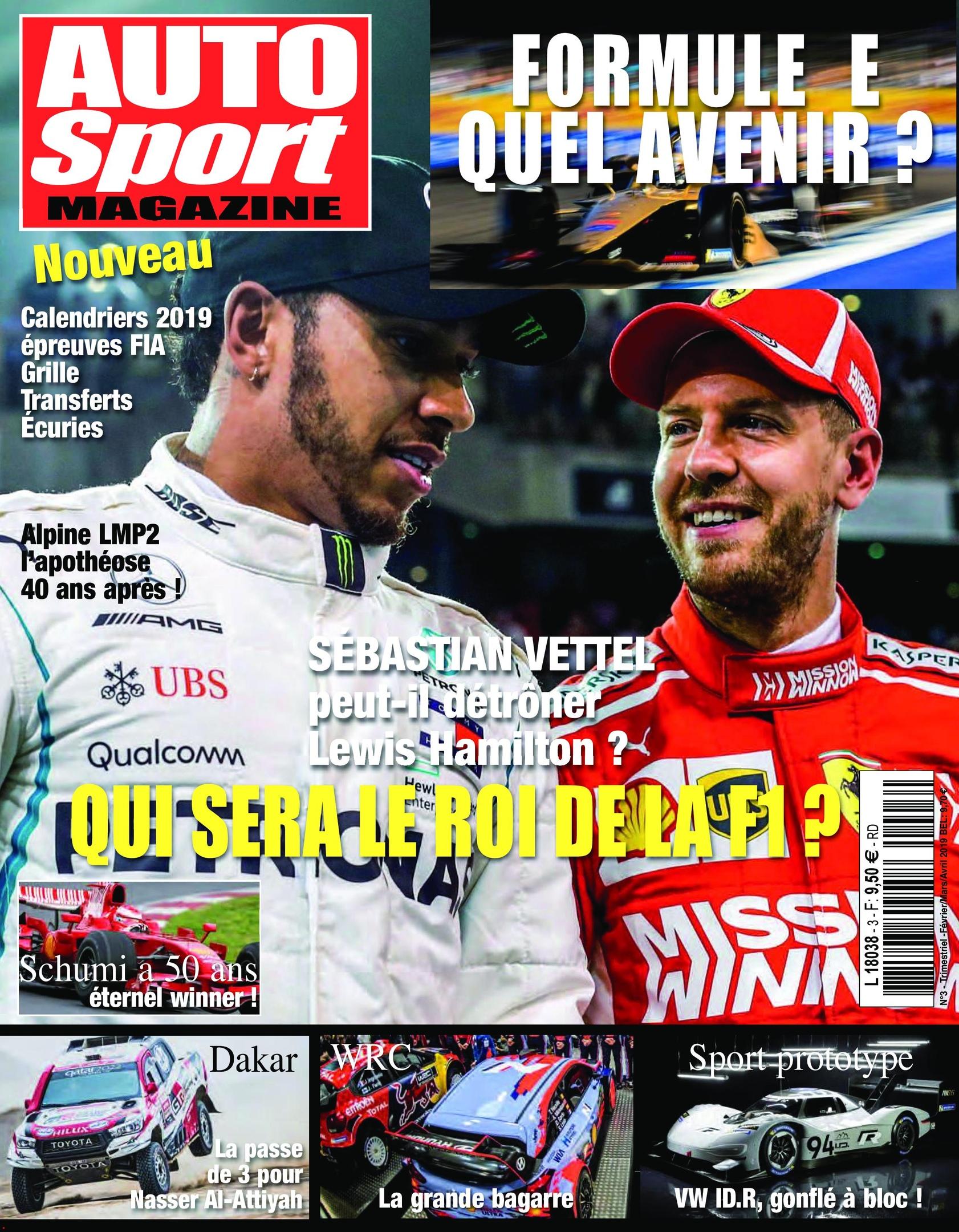 Auto Sport Magazine – Février 2019