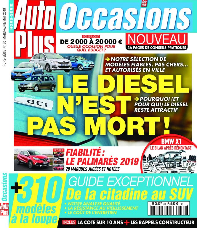 Auto Plus Occasions – Mars 2019