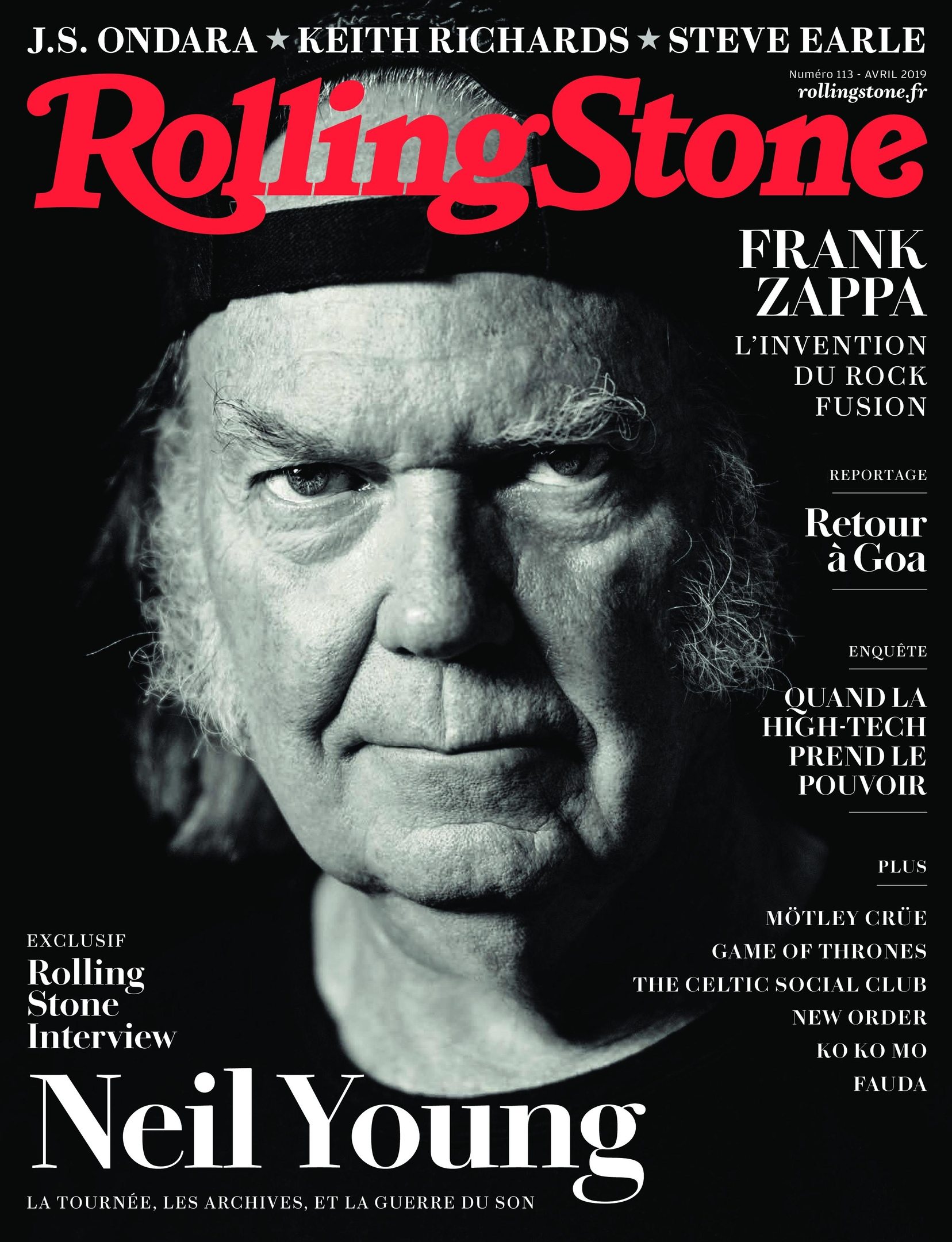Rolling Stone France – Avril 2019