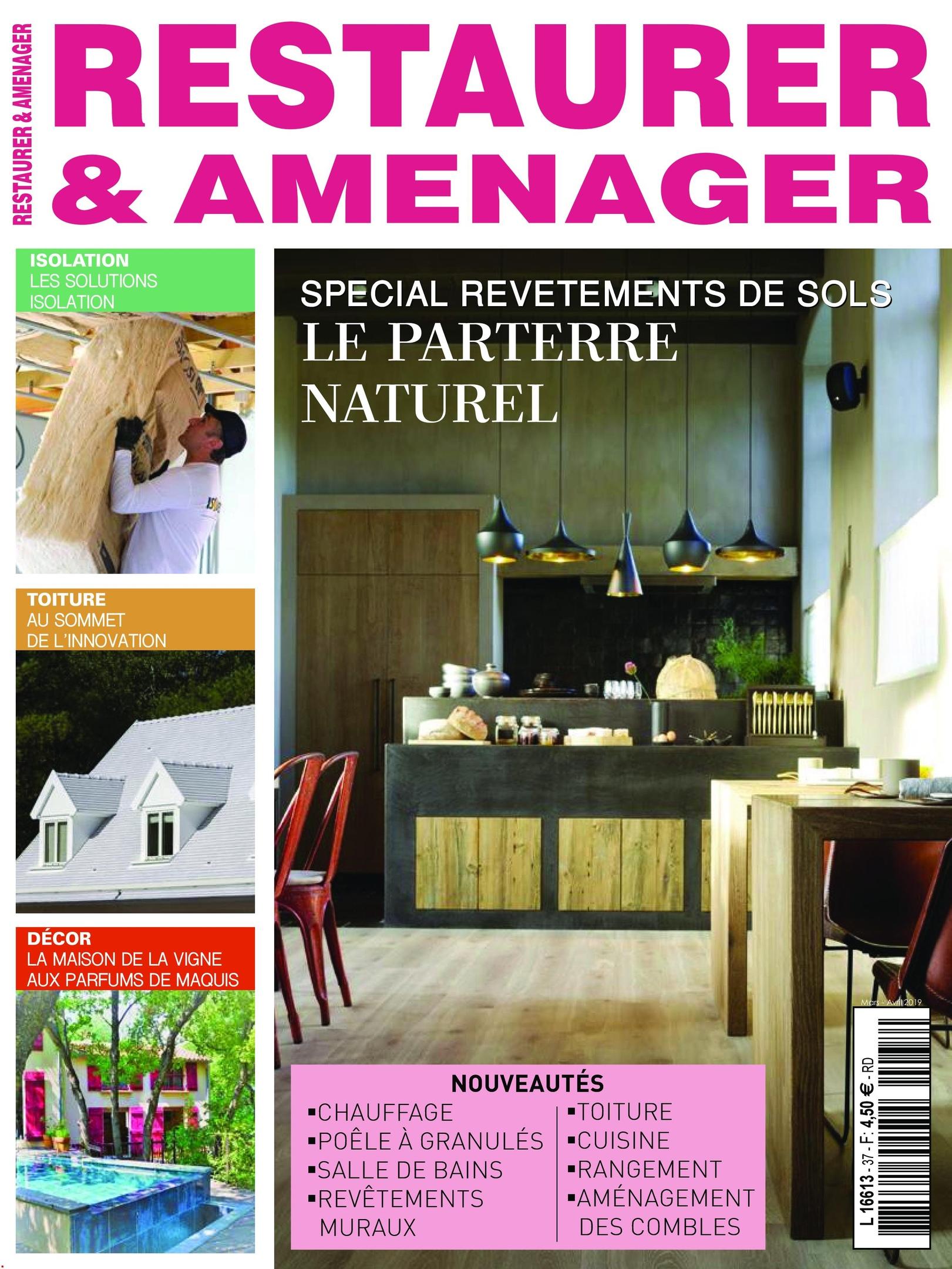 Restaurer & Aménager – Avril-mai 2019