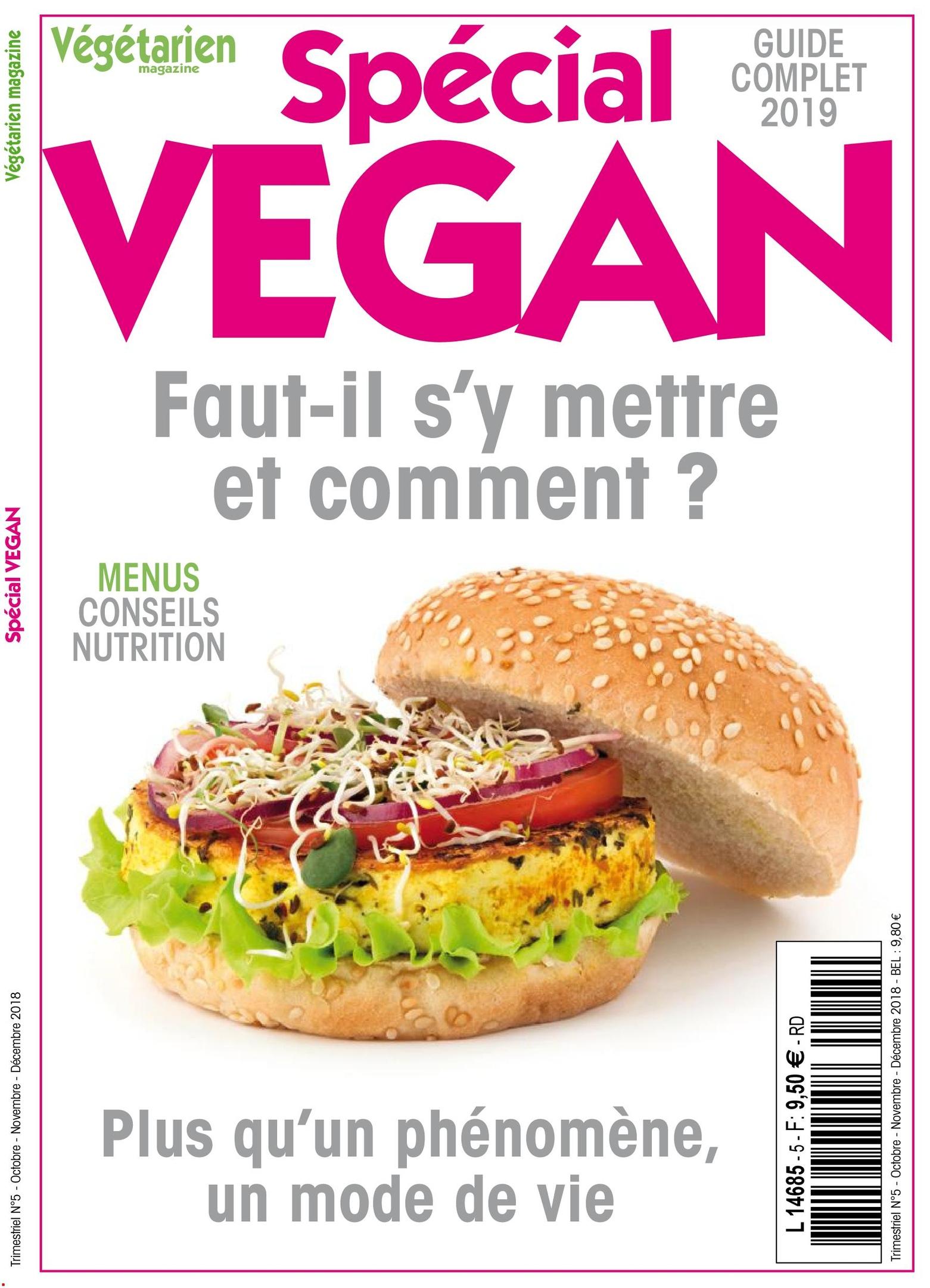 Végétarien Magazine – Octobre 2018