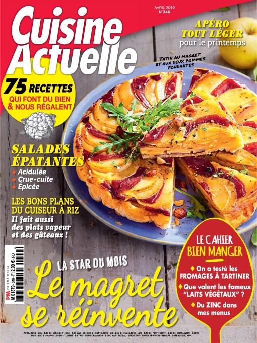 Cuisine Actuelle – Avril 2019