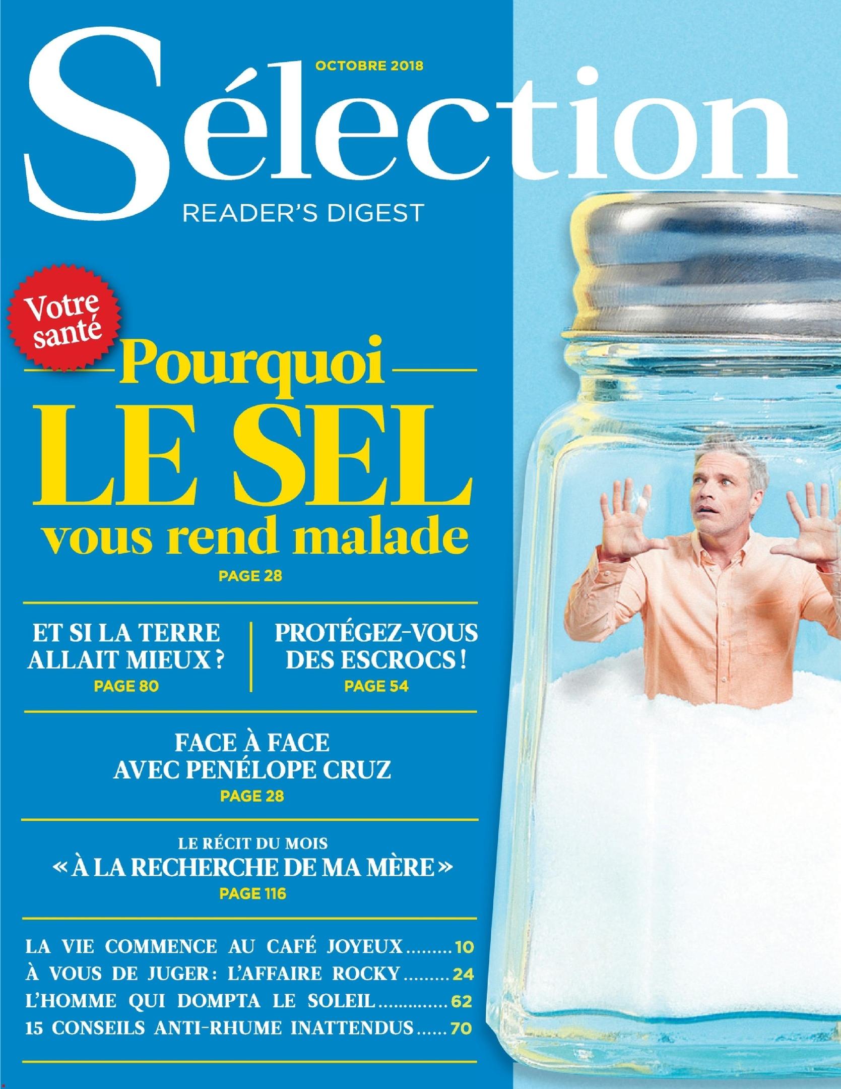 Sélection Reader's Digest France – Octobre 2018