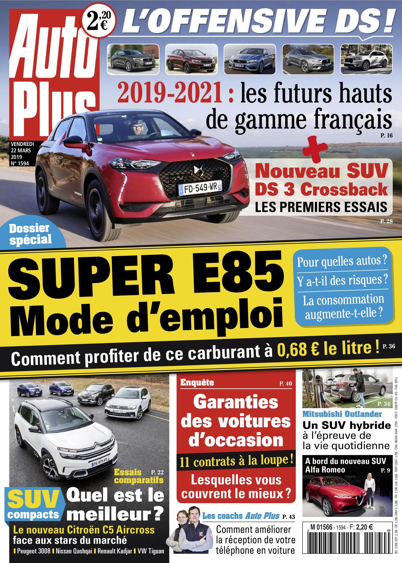 Auto Plus France – 22 Mars 2019