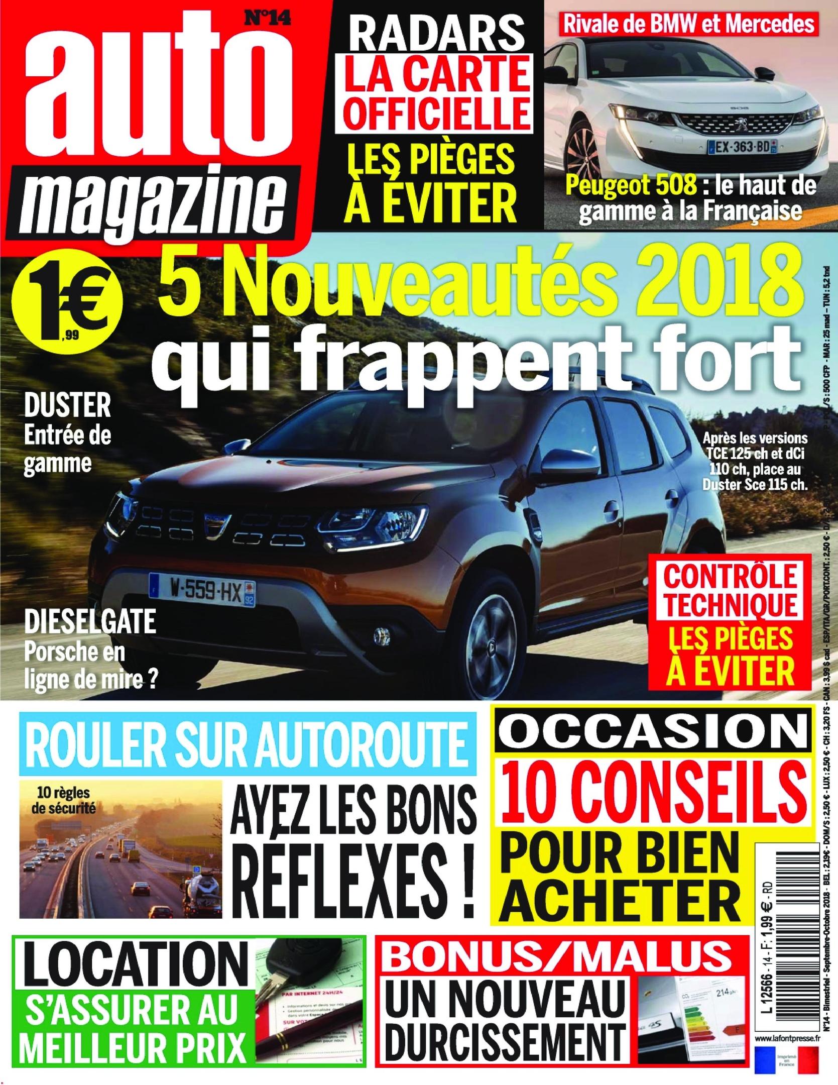 Auto Magazine – Septembre 2018