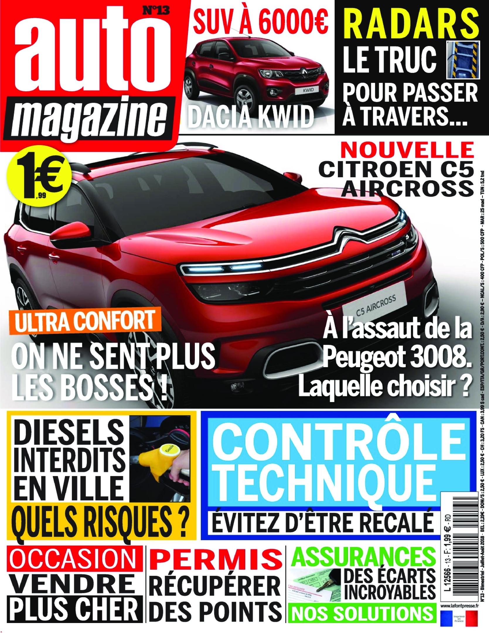 Auto Magazine – Juillet 2018