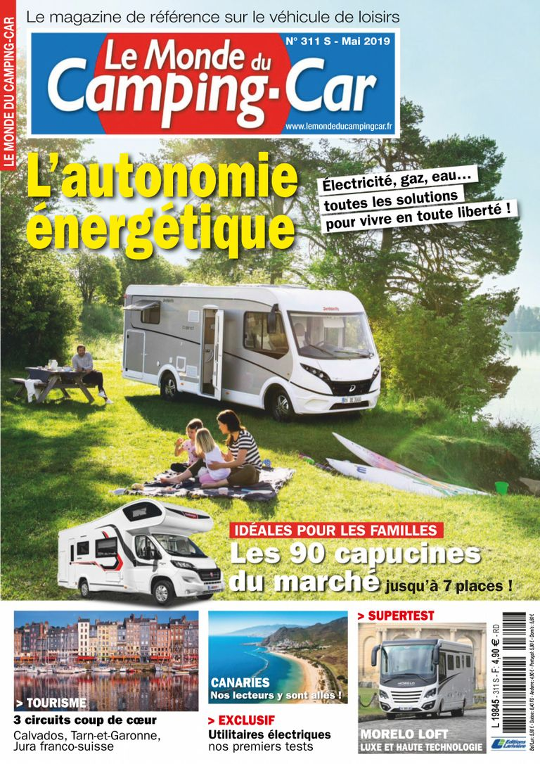 Le Monde Du Camping-Car – Mai 2019