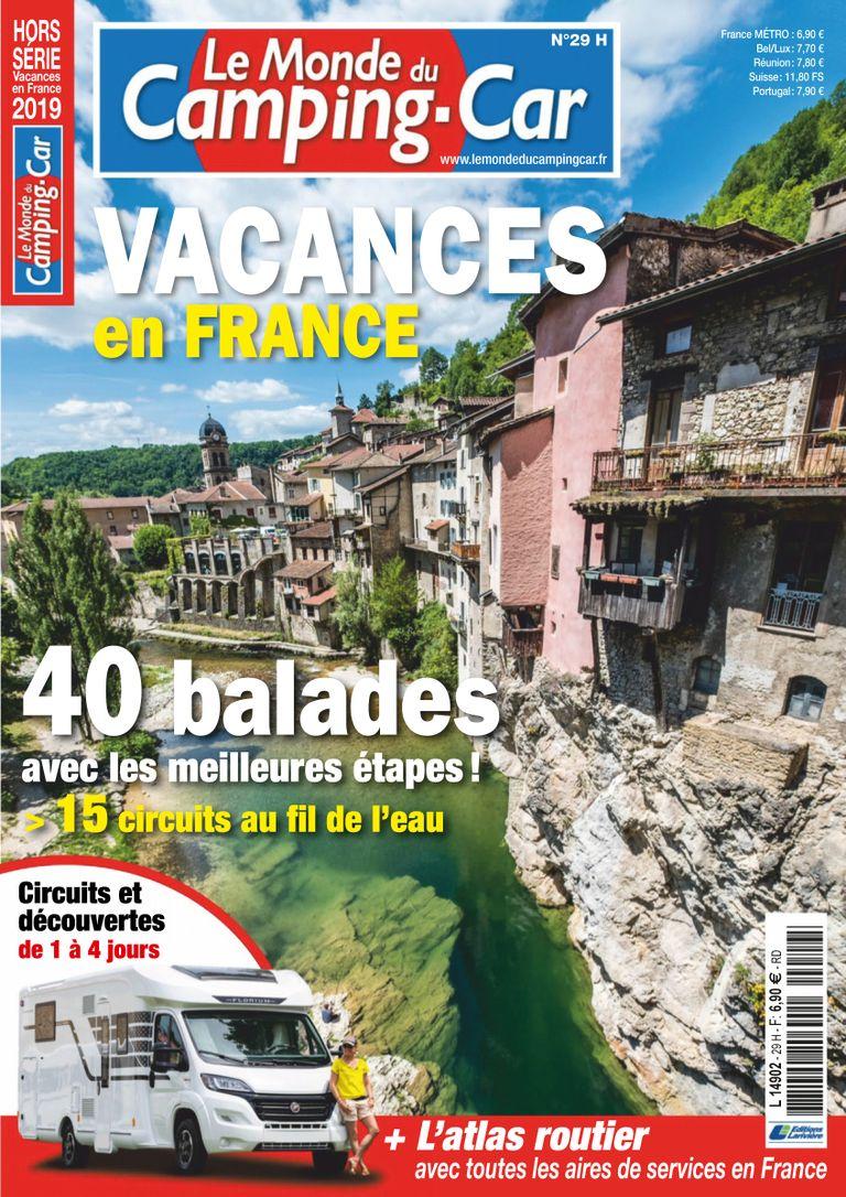 Le Monde Du Camping-car Hors-Série – Avril 2019