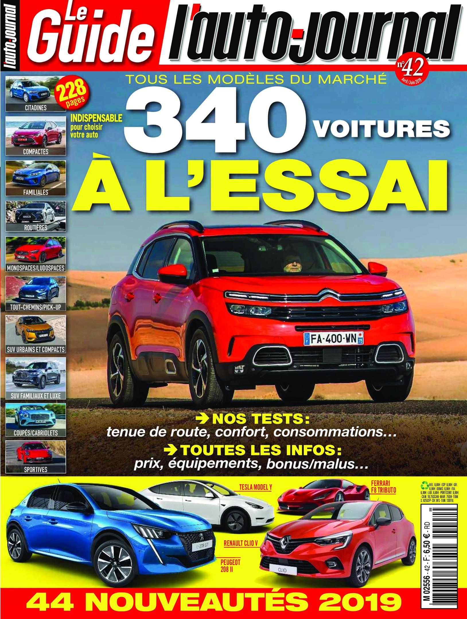 L'Auto-Journal (Le Guide) – Avril 2019