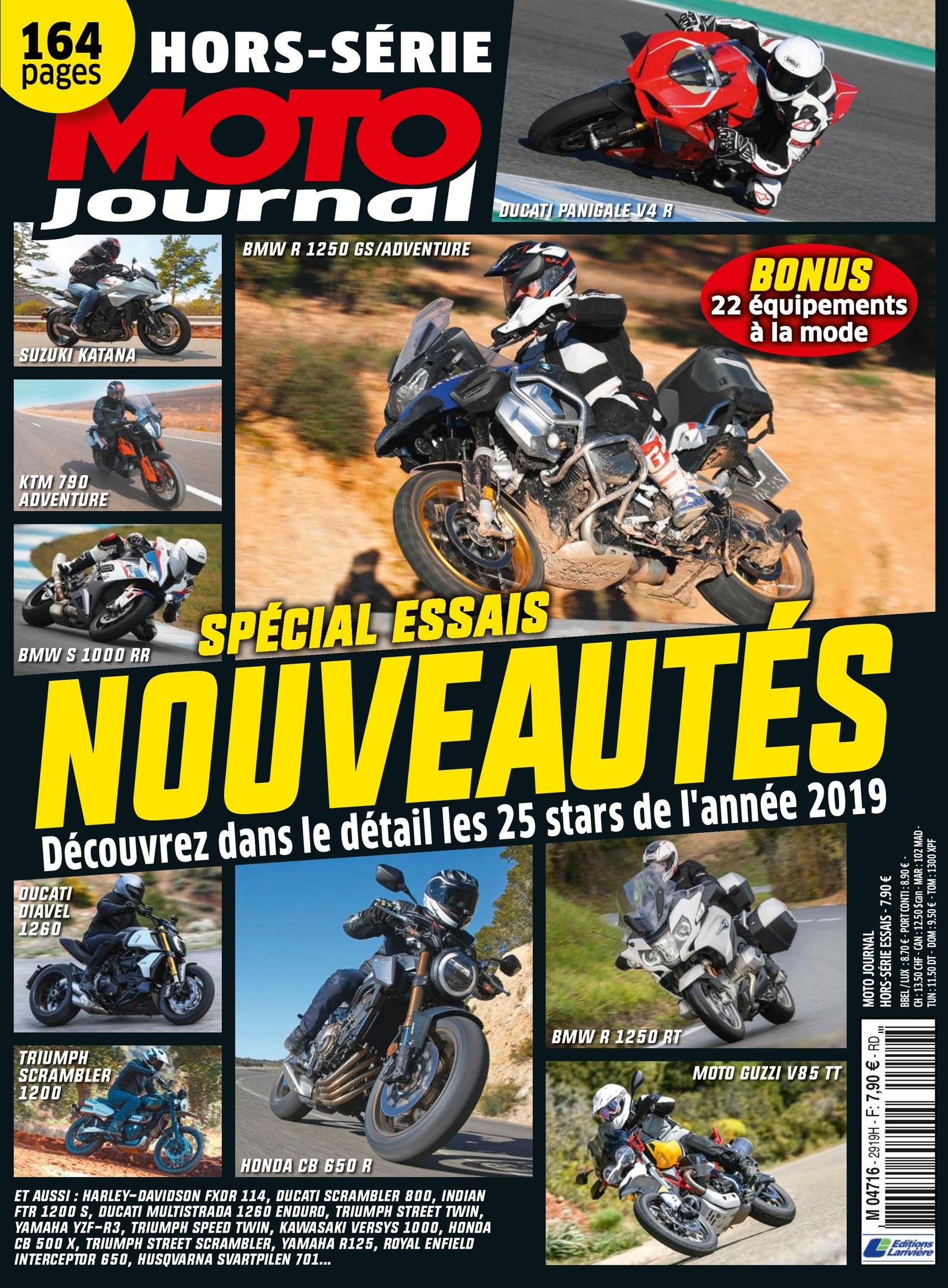 Moto Journal Hors-Série – Avril 2019