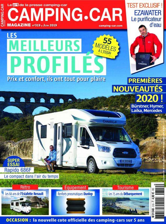 Camping-Car Magazine – Juin 2019