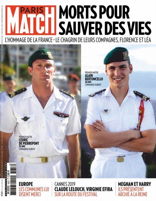 Paris Match – 16 Mai 2019