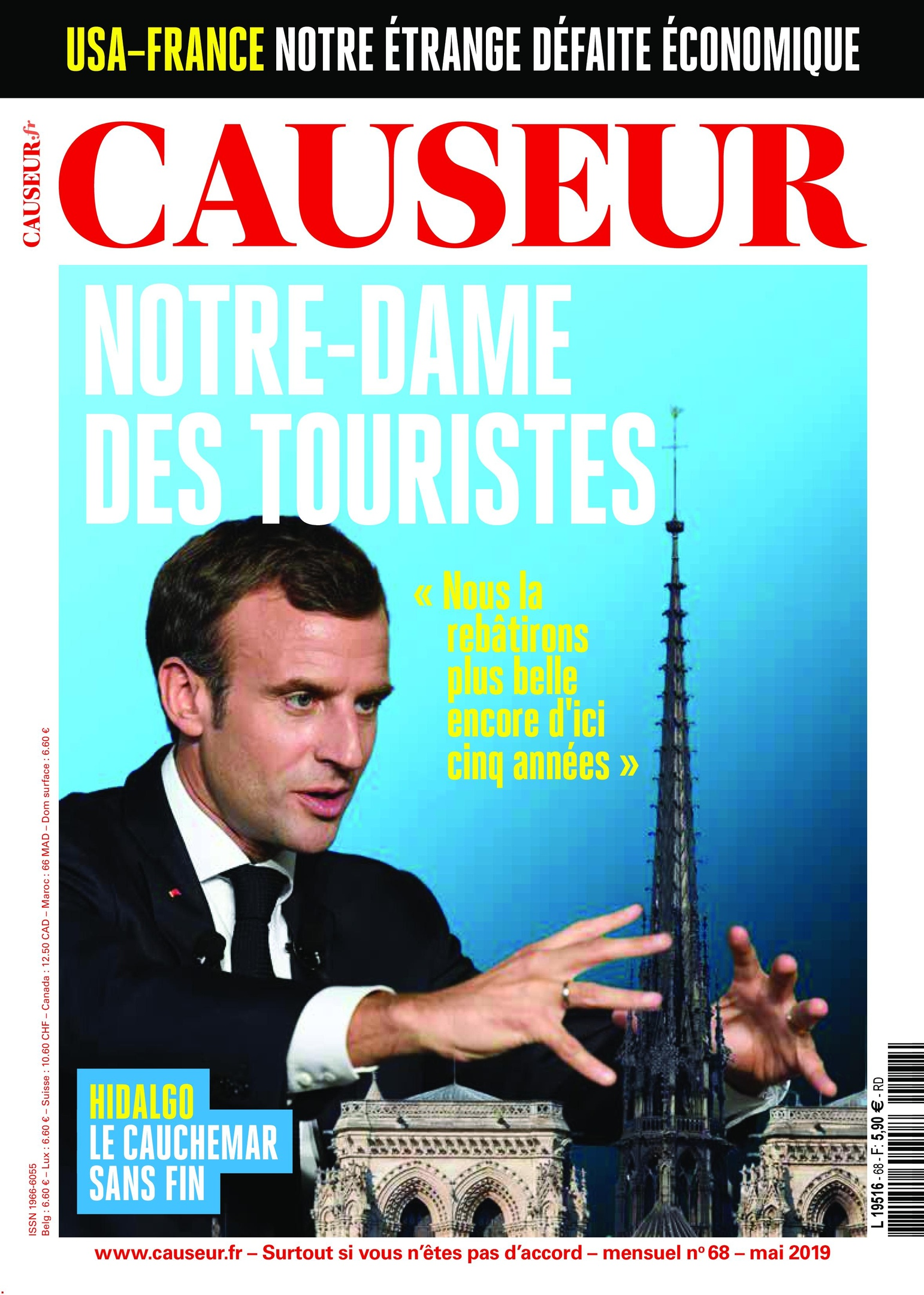 Causeur – Mai 2019