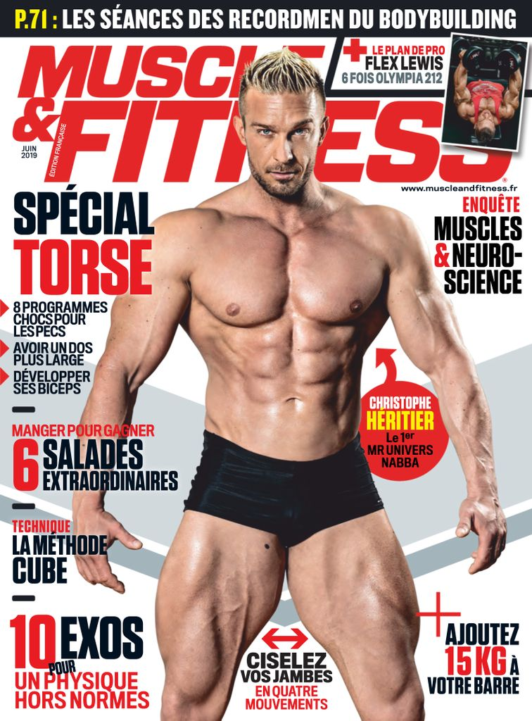 Muscle & Fitness France – Juin 2019