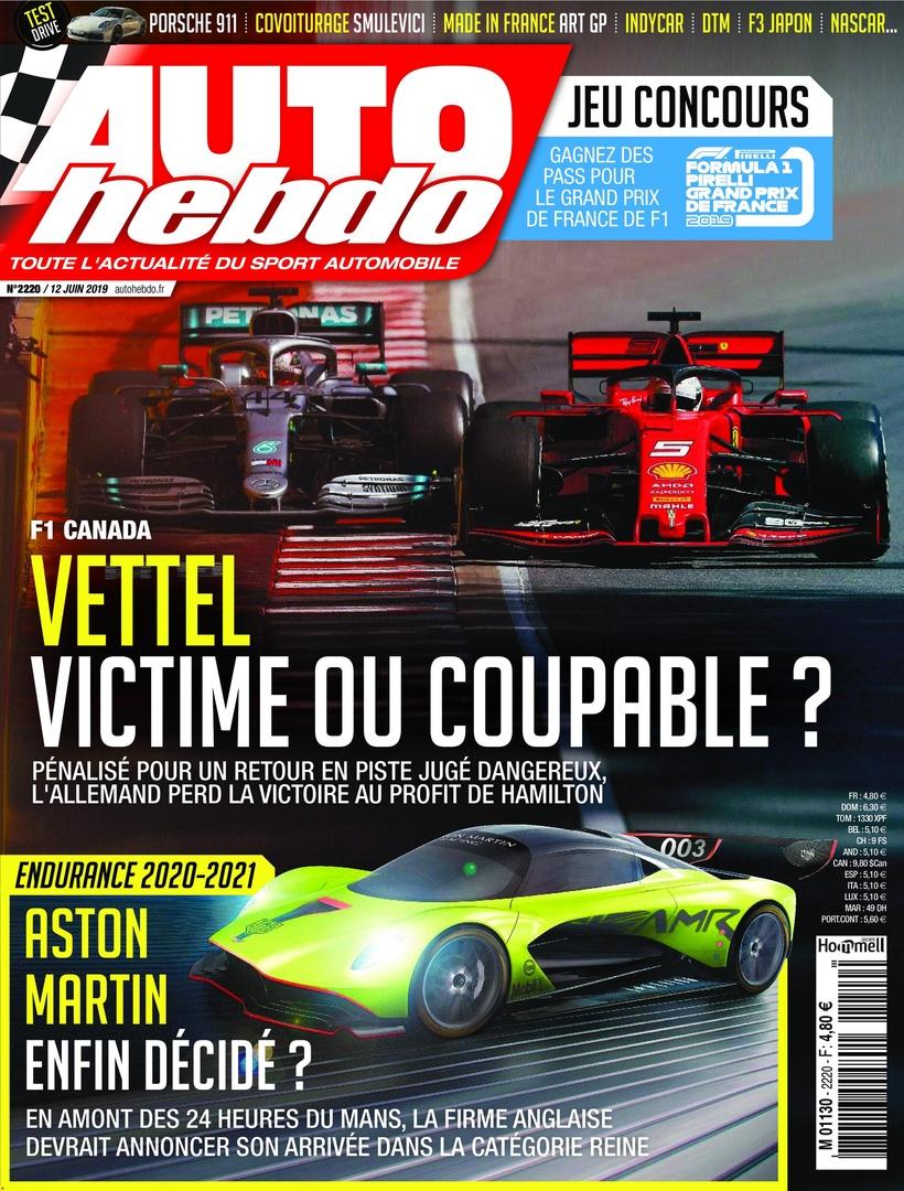 Auto Hebdo – 13 Juin 2019