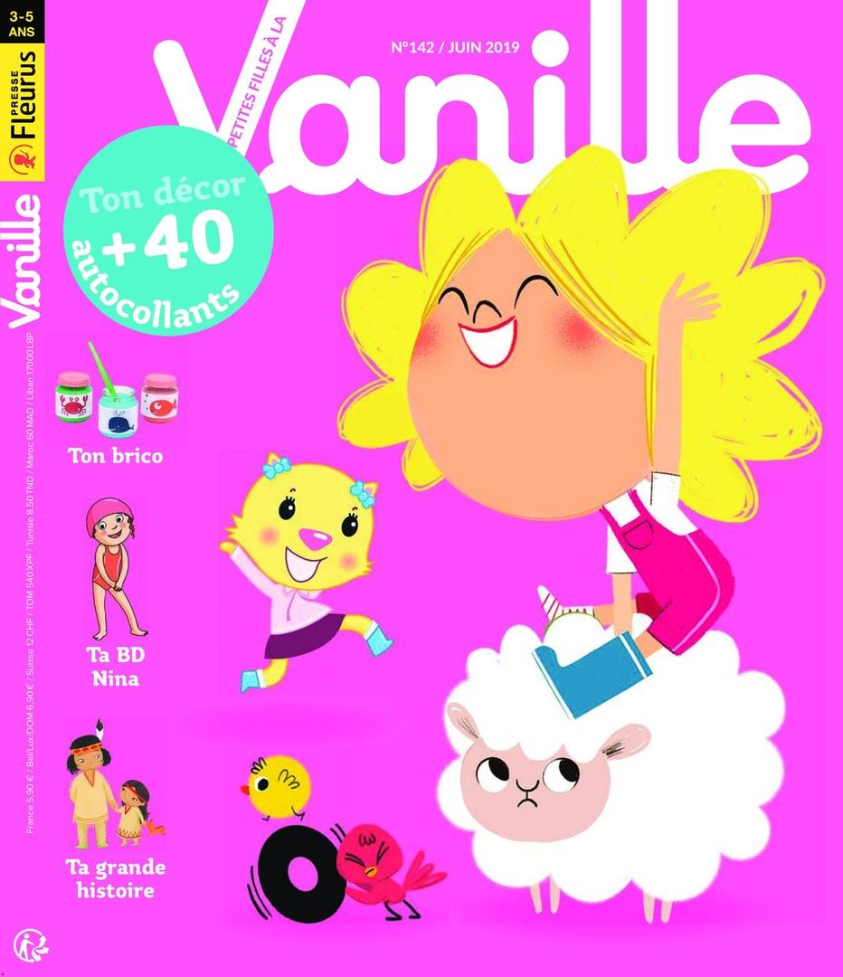 Les P'tites Filles à La Vanille – Juin 2019