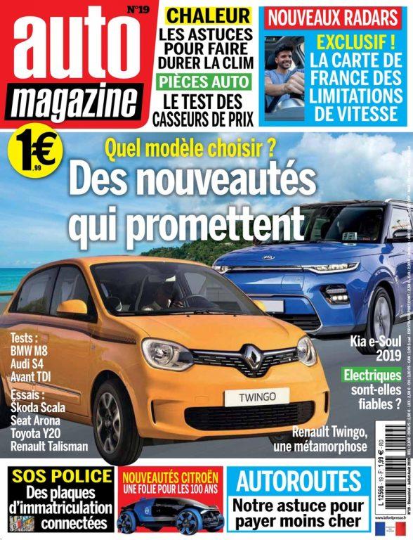 Auto Magazine – Juillet 2019