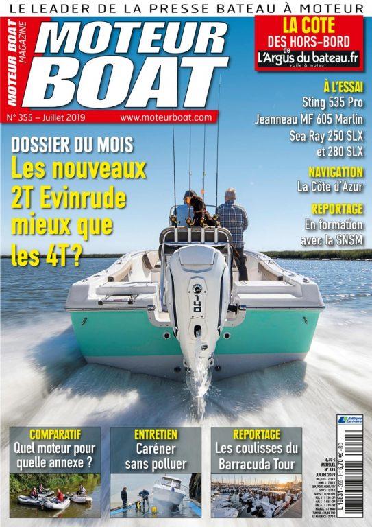 Moteur Boat – Juillet 2019