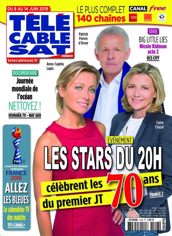 Télécâble Sat Hebdo – 03 Juin 2019
